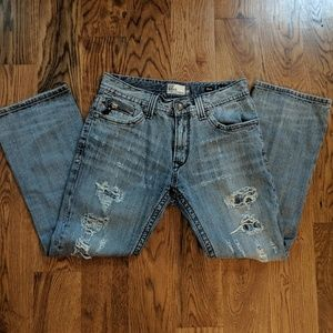ReRock Express Distressed Jeans